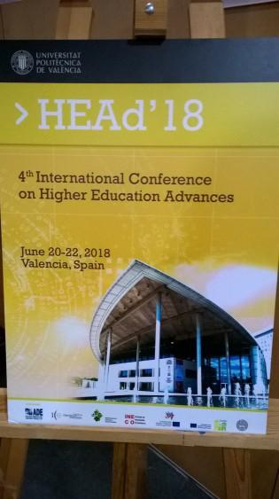 HEAd'18 Conference Valencia